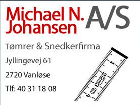 Michael-N.-Johansen-Tømrer-og-snedkerfirma-logo
